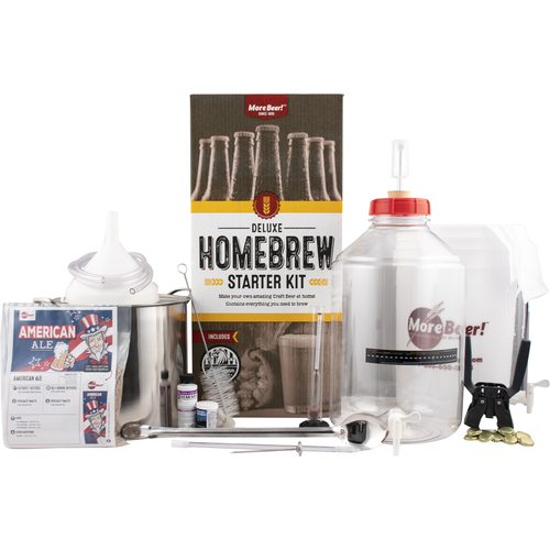 MoreBeer's Deluxe homebrew Starter Kit