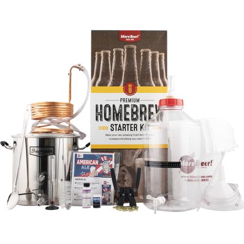 MoreBeer Premium homebrew starter kit