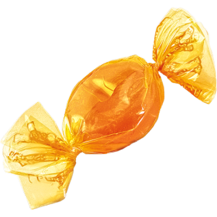 A picture of butterscotch candy.