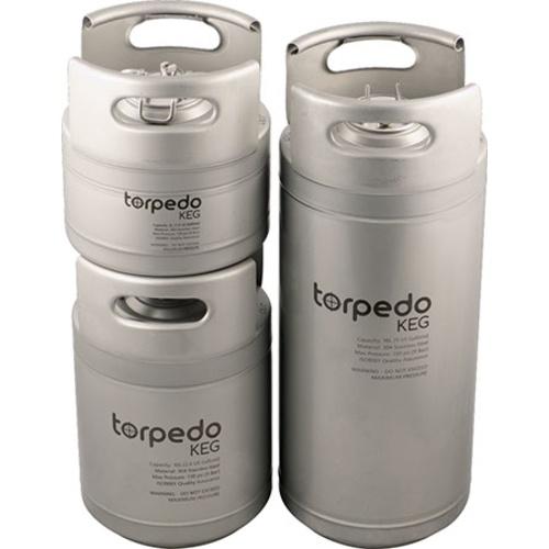Torpedo Ball Lock Kegs