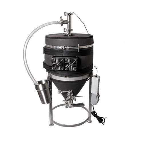 MoreBeer's 14 Gallon Conical Fermenter - Heated and Cooled