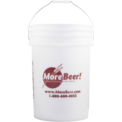 MoreBeer 6 Gallon Plastic Bucket