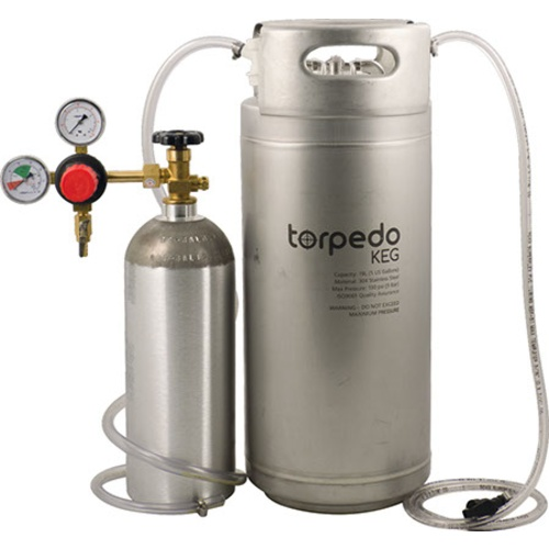 Torpedo Ball Lock Kegging System 5 Gallon