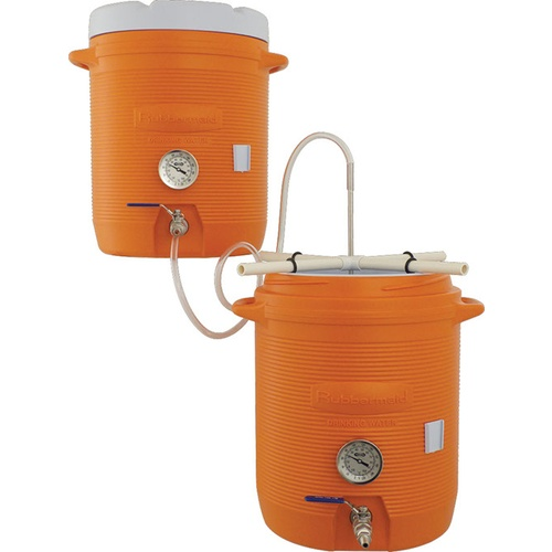 10 gallon cooler all grain systems with thermometer
