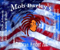 Beer Labels-Mob Barley's American Ale