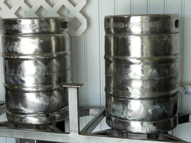 Two Polished Kegs and 6 Hours of Work