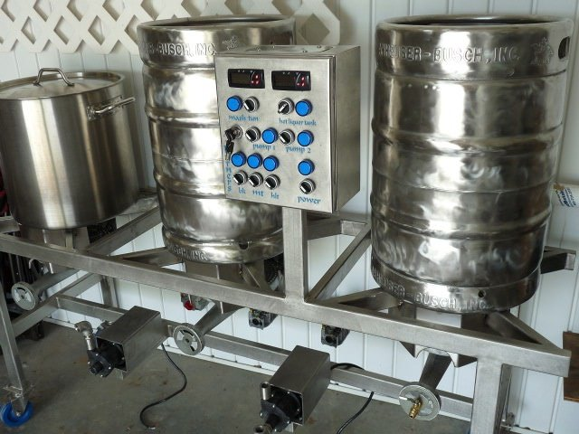 Polished Kegs and BK