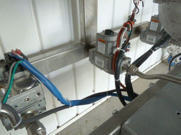 Wiring and pilot plumbing