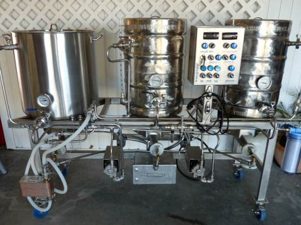 Recirculating Infusion Mash System