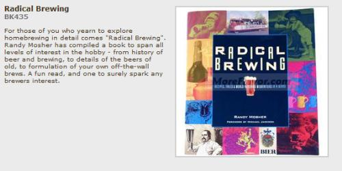 Radical brewing book cover.