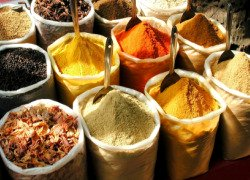Bags of spices