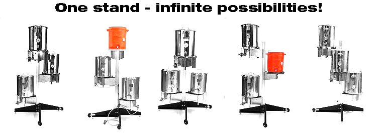 Blichmann's Top Tier Stand Configurations
