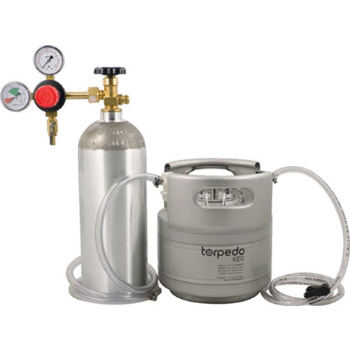 Torpedo Ball Lock Kegging System 1.5 Gallon