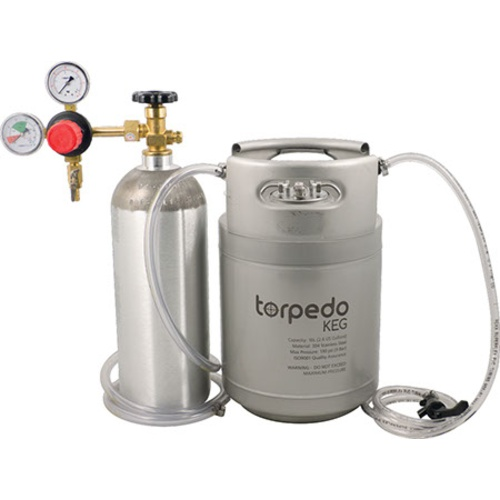 Torpedo Ball Lock Kegging System 2.5 Gallon